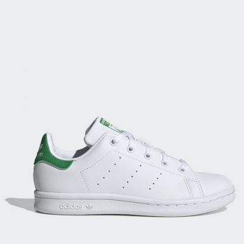 ADIDAS Vegan Stan Smith C Line – White Green Sneakers for Kids