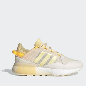 ADIDAS ZX 2K Boost Pure W Line – White Yellow Orange Sneakers for Women