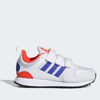 ADIDAS ZX 700 HD Line – Blue Red Mesh Sneakers for Kids