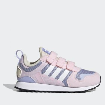 ADIDAS ZX 700 HD Line – Pink Liliac Mesh Sneakers for Kids