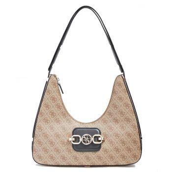 GUESS Hensely Line – Multi Milk Shoulder Bag for Women