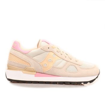 Saucony Shadow Original Tan - Almond - Pink Sneakers For Women