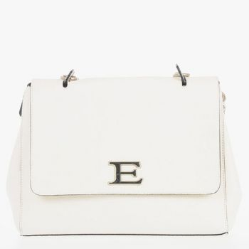ERMANNO SCERVINO White Woman Shoulder Bag Eba Summer Line Small Size