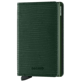 SECRID Rango Line - Green Leather Slimwallet with RFID