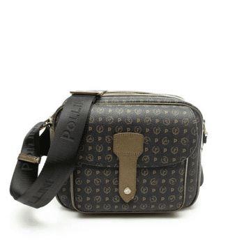 POLLINI Heritage Line – Black Bronze Crossbody Bag for Her
