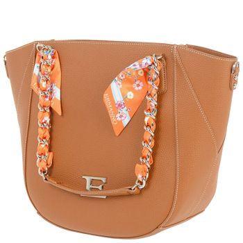 ERMANNO SCERVINO Tan Woman Shoulder Bag Eba Summer Line