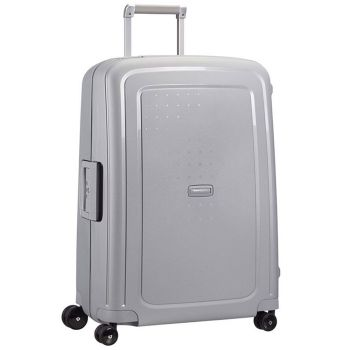 SAMSONITE Trolley Hard Shell Large Size 4 Wheels 75 cm S'Cure Silver Line