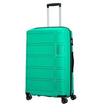 Middle Trolley 67cm 4-wheel 3.2kg - American Tourister Summer Splash Mint