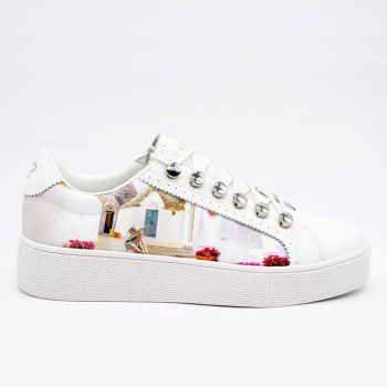 Y Not Sneakers with Trulli Print for Women