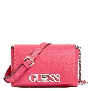 GUESS Uptown Chic Line – Mini Fuxia Shoulder Bag