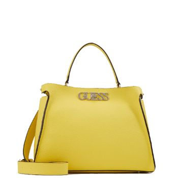 GUESS Yellow Woman Handbag Uptown Chic Line