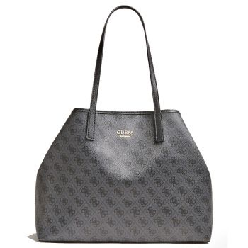 GUESS Vikky Line – Coal Tote Bag for Women