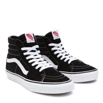 VANS High Sk8-Hi Line – Black White Suede Sneakers