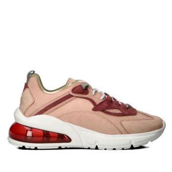 D.A.T.E. Aura Nabuk Line – Pink Sneakers