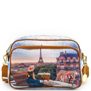 Y NOT Crossbody Bag YES Line YES-331 Paris View