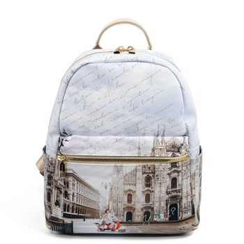 Y NOT YES-380 Line – Small Backpack with Milano Classic Print for Women