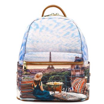 Y NOT Woman Backpack YES-380 Paris View