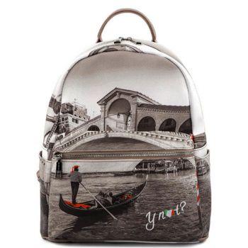 Y NOT Woman Backpack YES-380 Venice Bridge