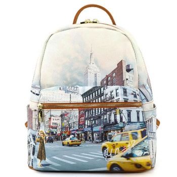 Y NOT Woman Backpack YES-380 NY Tower