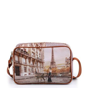 Y NOT YES-440 Line – Shoulder Bag with Sauvage Print
