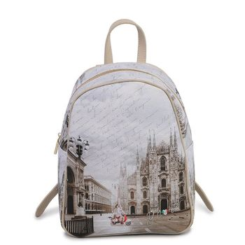 Y NOT YES-578 Line – Backpack with Milano Classic Print for Women