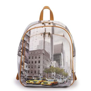 Y NOT YES-579 Line – Backpack New York Streets Print for Women