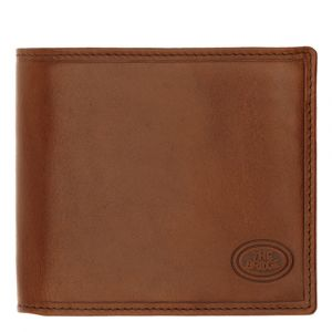 THE BRIDGE Story Line - Brown Leather Wallet with Coin Case Made in Italy