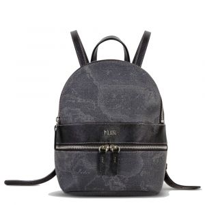 1A Classe Alviero Martini Geo Black D098 - Small Backpack with Logo