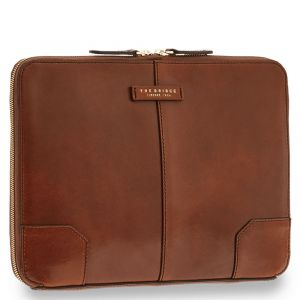 THE BRIDGE Brown Leather Document Holder Vespucci Line