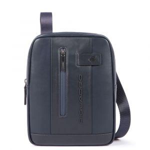 "PIQUADRO Urban Line – Blue Leather Crossbody Bag with iPad®10,5""/iPad 9,7"" Compartment CA1816UB00"