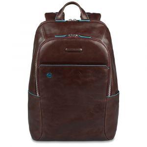 "PIQUADRO B2s Line – Mahogany Leather Backpack with IPAD®AIR-IPAD PRO 9.7/IPAD 11"" Compartment CA3214B2S"