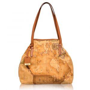 Woman's Bag Two Handles Shoulder 1A Classe Alviero Martini D016