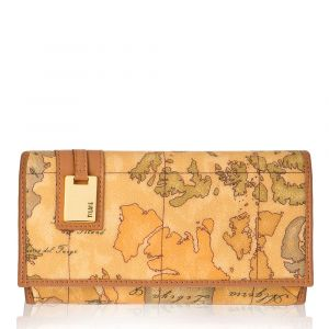 1A Classe Alviero Martini Geo Classic Large Wallet with External Pocket W026